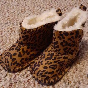 Joe Fresh leopard boots - 4
